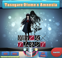 Tasogare Otome x Amnesia ICO and PNG by bryan1213