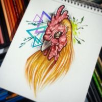 Cock drawing by joshing88