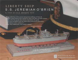Liberty Ship Paper Model by RocketmanTan
