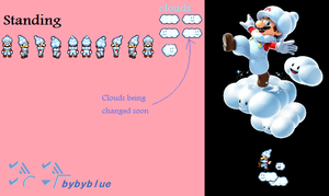 cloud mario sprites preview by bybyblue