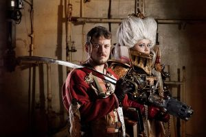 Warhammer 40 000 Cosplay: Inquisition Team by alberti