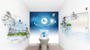 bathroom branding by migoams