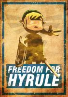 Freedom for Hyrule by ufimcef