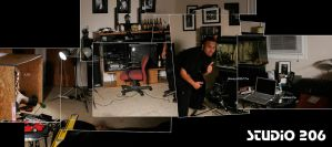 The Mayhem that is My Studio by PhotographybyVictor