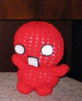 Hand Knit - Demented Doll by gippentarp