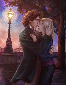 Autumn Kiss by the-untempered-prism