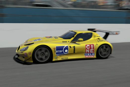 Portuguese driver driving in Road Course - Daytona by patemvik