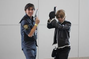 Cosplay: Kevin Ryman and Leon S. Kennedy by AngelicCosplay