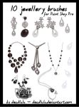 10 Jewellery Brushes - for PsP by LaVolpeCimina