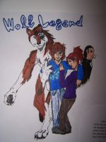 Wolf Legend Cover by CaliforniaSigma
