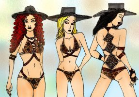 Rattlesnake fashion 2 by Selinelle