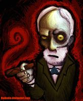 Sigmund Freud Retouched by badneko
