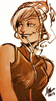 Sketchavember W1-06 by aimo