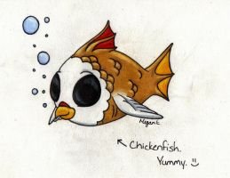 Chickenfish by llteaniebeanie