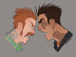 Yellin Faces by GreekCeltic