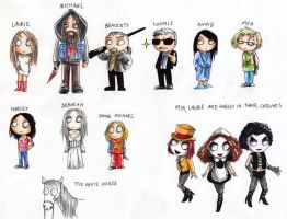 RZ's Halloween 2- Characters by Seal-of-Metatron