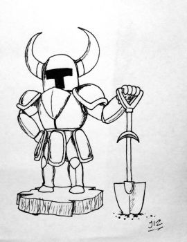 Shovel Knight! by TheJege12