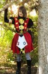Alice Madness Returns Cosplay - Red Dress by brnin8or