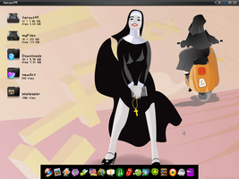 Nun by farout49