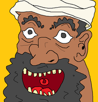 Happy Arab Man by holdypause