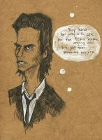 Nick Cave Oh My Lord by Distorted-Eye