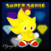Super Sonic Chao by CCgonzo12