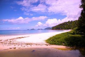 Seychelles Beach by donovanthatcher