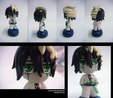 Chibi Ulquiorra Sculpture by L3Moon-Studios