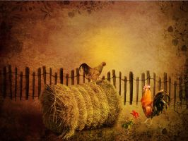 The Courtship by 3punkins