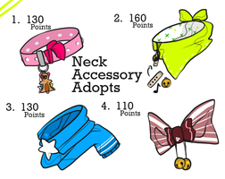 Neck Accessory Adopts //ALL GONE by Cotton-Bean