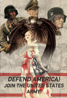 Defend America Poster by RvBOMally