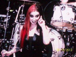 Ash Costello last pic by A7XFan666