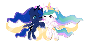 Sisters in Royalty by CrispyCreme