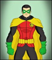 Robin 4 - New 52 by DraganD