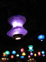 Colorful Hanging Lanterns by plutoplus1
