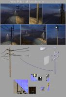 Utility Pole and Attachments by LaithArkham