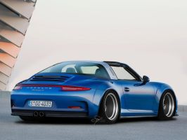 Porsche-911 Targa 4S by CustDe