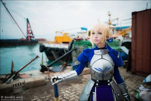 FATE ZERO SABER - 01 by shiroang