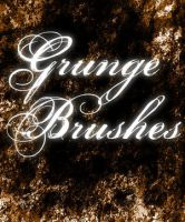 Grunge Brushes by CoffinStock