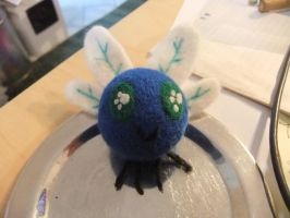 Needlefelted Parasprite by chris-chan