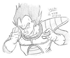 Vegeta 04-03-2013 by VegetasLittleLover