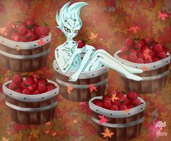 the autumn apples group astral challenge by MichxGaara