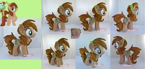 Jade OC Plushie (Commission) by moggymawee