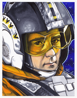 #022 - Wedge Antilles [Star Wars] by NessaSan