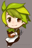 COOKIE RUN: Herb Cookie by YuuAbyss