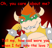 resentful Bowser is resentful by Mloun
