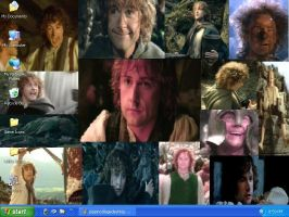 Pippin Collage Desktop by drumgirl