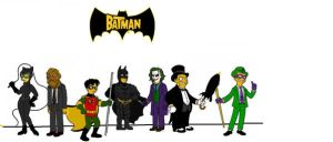The Simpsons: Batman by Sean-Turner