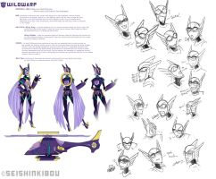 -Wildwarp Model Sheet- by SeishinKibou