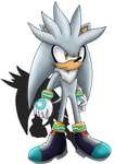 Silver The Hedgehog by Shadoukun